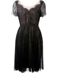 Notte By Marchesa Lace Dress - Lyst