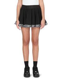 BOY London - Logo-trimmed Mini Skirt - Lyst