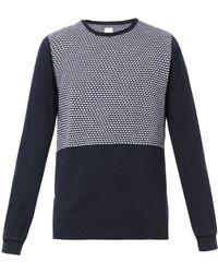 Jean Machine Program Contrastknit Sweater - Lyst