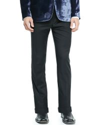 Paul Smith Woolcashmere Flat-front Trousers - Lyst
