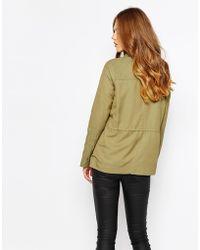 Harlyn - Army Anorak Jacket - Lyst