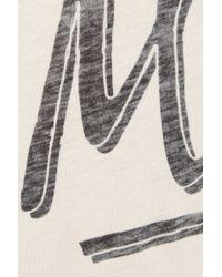 Zoe Karssen Merci Cotton and Modal Blend T-Shirt - Lyst