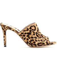 Gianvito Rossi Mytheresacom Exclusive Pony Hair Mules - Lyst