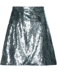 Dolce & Gabbana Sequined Skirt - Lyst