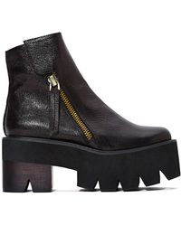 Nasty Gal Jeffrey Campbell Dulli Leather Platforms - Lyst