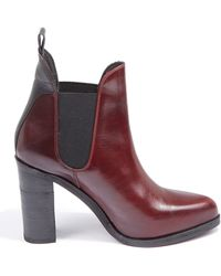 Rag & Bone Leather Stanton Chelsea Boots - Lyst