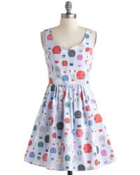 ModCloth Air Of Adorable Dress In Balloons multicolor - Lyst