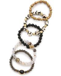 Lacey Ryan - Rebel Bracelet Set - Lyst
