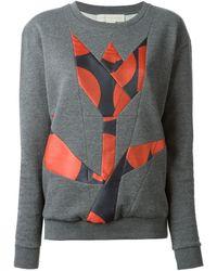 Stella McCartney Tulip Print Sweater - Lyst
