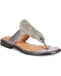 Corso Como - Perry Flat Thong Sandals - Lyst