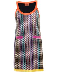 Missoni Knitted Teardrop Dress - Lyst