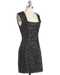 Bb Dakota Did You Sequin Me Coming? Dress - Lyst