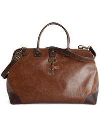 Andm (nila Anthony) Keystone State Weekend Bag In Whiskey & Molasses - Lyst