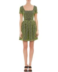 Christopher Kane Eyelet Overlay Dress - Lyst