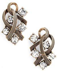 Allison Reed - Cascade Cluster Earrings - Lyst