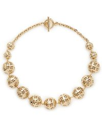 St. John - Disco Ball Necklace - Lyst