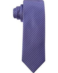 Hugo Boss Hugo By Purple Ministripe Skinny Tie - Lyst