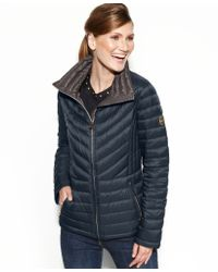 Michael Kors Michael Petite Packable Quilted Puffer - Lyst