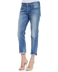 7 For All Mankind Relaxed Skinny Denim Jeans - Lyst