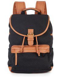 Madden Girl - Bbenji Chevron Jacquard Backpack - Lyst