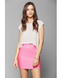 Sparkle & Fade - Bodycon Bandage Mini Skirt - Lyst
