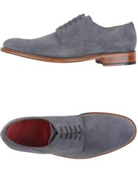Grenson   gray Lace-up Shoes   Lyst