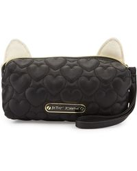 Betsey Johnson - Kitchi Cat Rose Cosmetic Bag - Lyst
