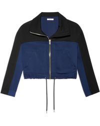 Helmut Lang Solar Drape Jacket blue - Lyst