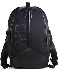 Y-3 Logo Day Backpack - Lyst