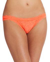 Hanky Panky Signature Lace Brazilian Bikini - Lyst