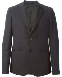 Raf Simons Classic 2 Button Constructed Blazer - Lyst