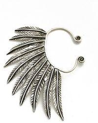 Natalie B. Jewelry - Natalie B. Pegasus Ear Cuff In Silver - Lyst