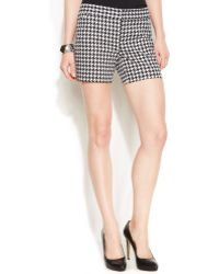 Inc International Concepts B Houndstoothprint Shorts - Lyst
