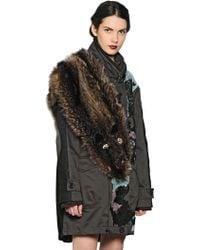 Antonio Marras - Embellished Marmot Fur Stole - Lyst