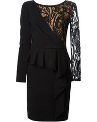 Emilio Pucci Layered Floral Lace Dress - Lyst