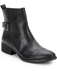 Donald J Pliner Plata Leather Ankle Boots - Lyst