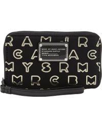 Marc Jacobs - Dreamy Logo Wingman Wallet - Lyst