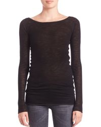 Helmut Lang | Sheer Long-sleeve Shirt | Lyst