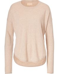 Zadig & Voltaire Cashmere Pullover with Patches - Lyst