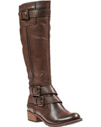 Andre Assous Roberta Riding Boot Cognac Leather - Lyst