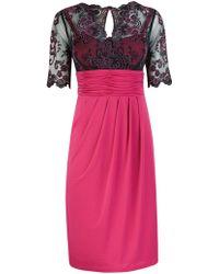 Alexon - Lace Detail Jersey Dress - Lyst