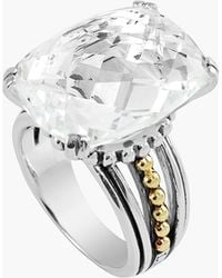 Lagos 'Prism' Stone Ring silver - Lyst