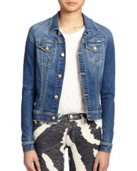 Mother The Bully Denim Jacket - Lyst