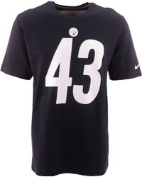 Nike Mens Troy Polamalu Pittsburgh Steelers Pride Player Tshirt - Lyst