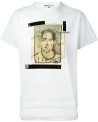 Andrea Pompilio - Sketch Print T-Shirt - Lyst
