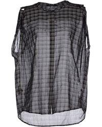 Neil Barrett Shirt black - Lyst