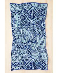 Pendleton Bandana Jacquard Towel blue - Lyst