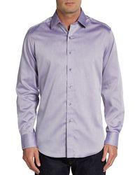 Robert Graham Love Shack Printed Cotton Sportshirt - Lyst