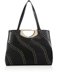 Christian Louboutin | Passage Studded Leather Tote | Lyst