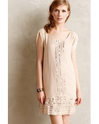 Anthropologie Mirror Trim Tunic Dress - Lyst